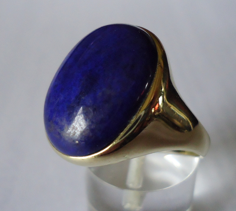 GS 9031 Ring Lapis Lazulli